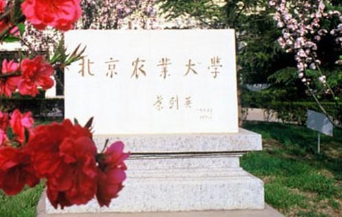 北京农业大学碑铭