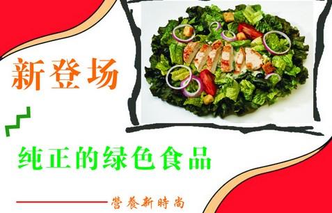 纯正的绿色食品