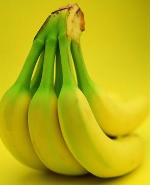 绿色食品香蕉