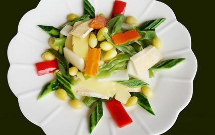 绿色食品小菜