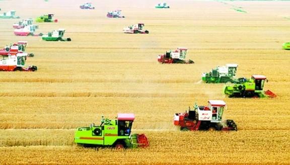 农业机械化的大量普及