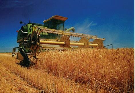 农业机械收割