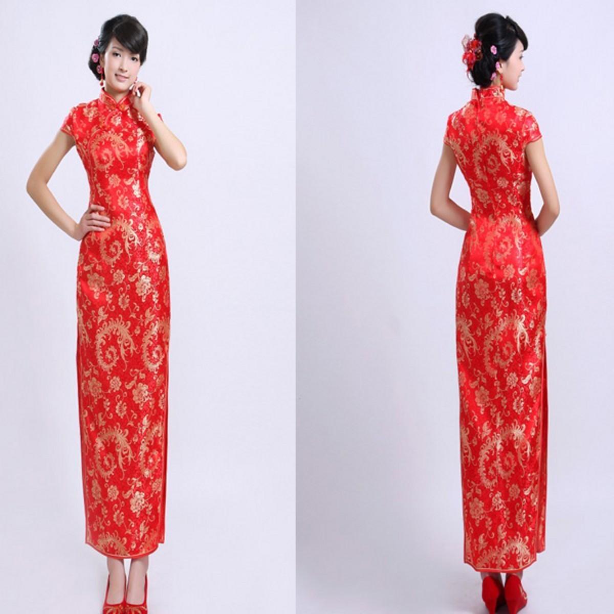 红色婚纱旗袍秀