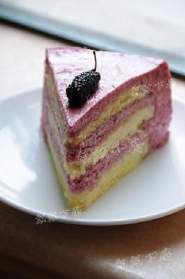 桑葚幕丝蛋糕的做法
