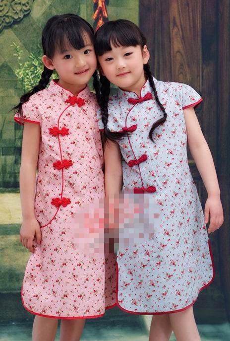 超可爱小姑娘穿旗袍1