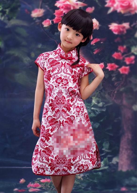超可爱小姑娘穿旗袍7