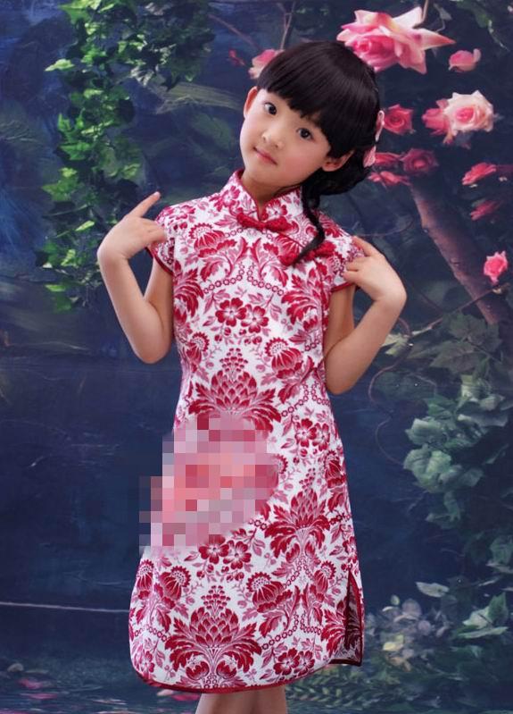 超可爱小姑娘穿旗袍5