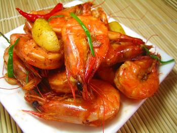 微波炉菜谱之微波炉辣虾的做法