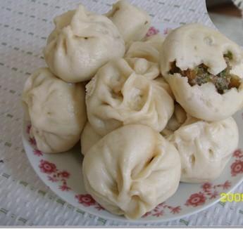 美味可口白菜香菇素包子的做法