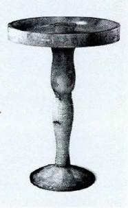 中国火焰光源时代的台灯