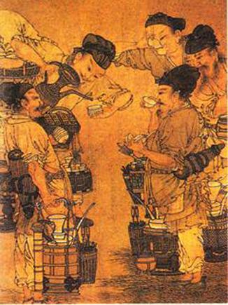 旧日茶道——宋代点茶法的盛行和斗茶游戏的兴起