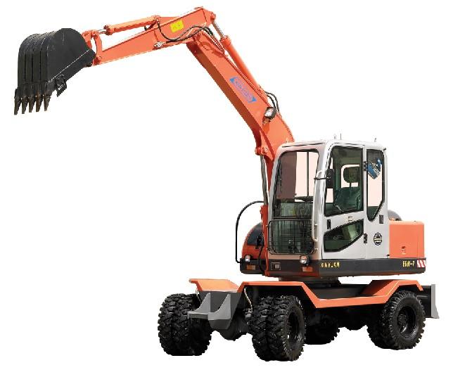 柴油机电喷控制液压挖掘机