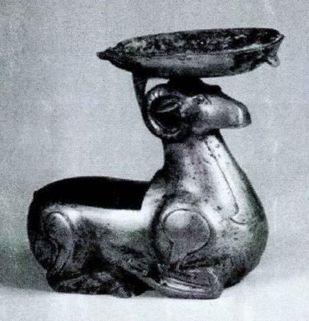 古代动物形态台灯