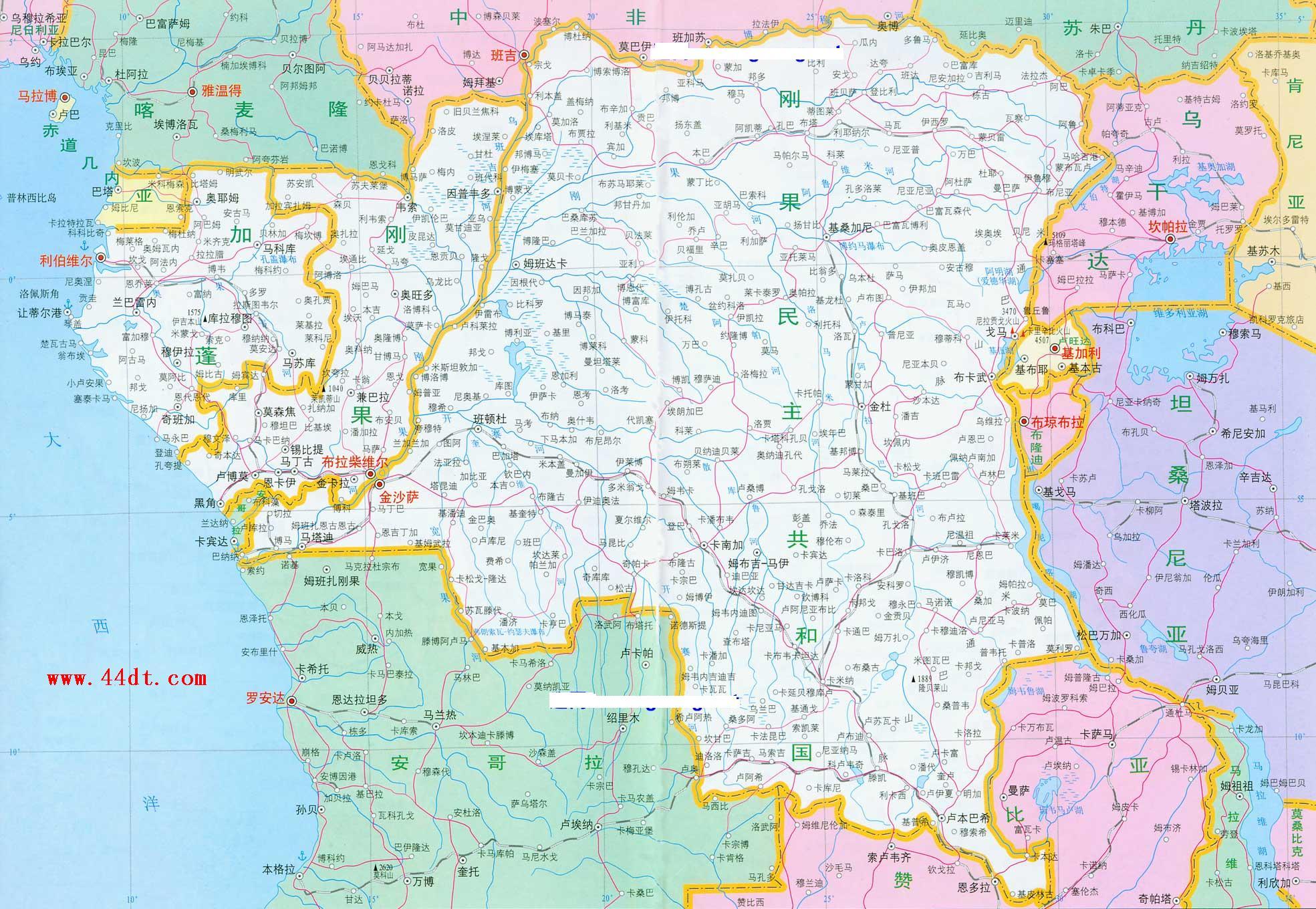 世界上最大的盆地 刚果盆地介绍