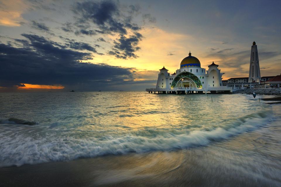水上交通要道马六甲海峡