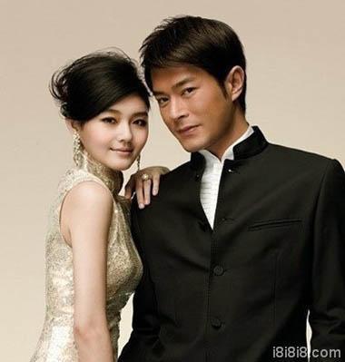 大S_徐熙媛的金丝雀旗袍发型,与古天乐真的很搭