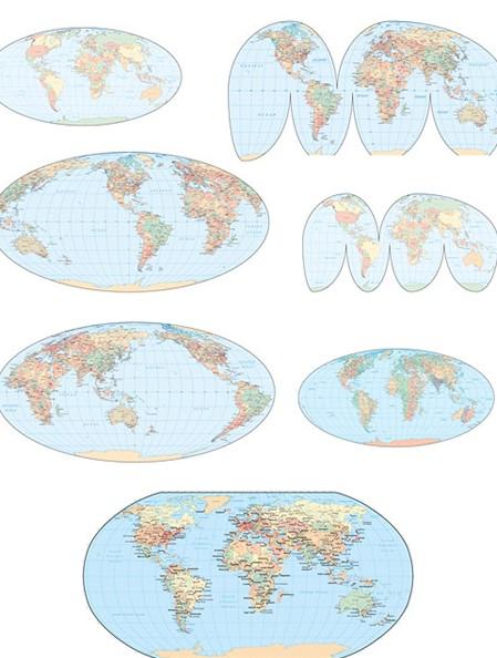 地图的种类