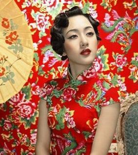 旗袍发型-展现出东方女性才具有的古典气质