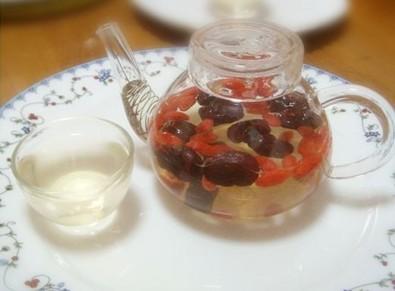红枣枸杞茶_春季养肝的最佳饮品