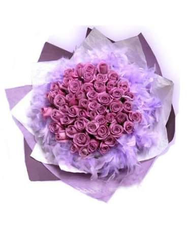 紫玫瑰除了减轻经痛之外还拥有着丰富鲜艳的色彩