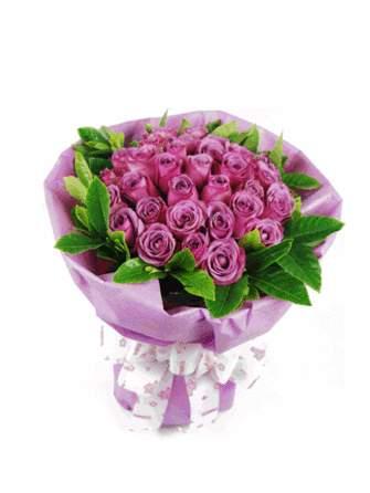 好似又回到了大自然的怀抱的紫玫瑰茶