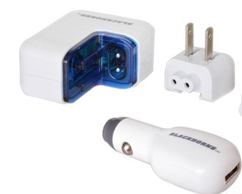 由锂电芯或者干电池作为储电单元的移动电源