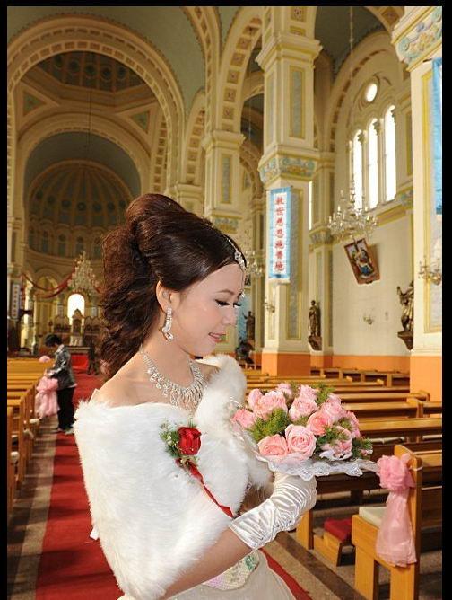 sally教你做-婚礼韩式盘发