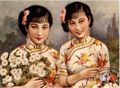 70年前的著名旗袍美女与品牌