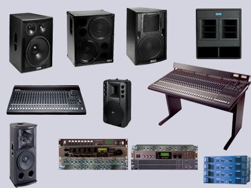 专业音响设备