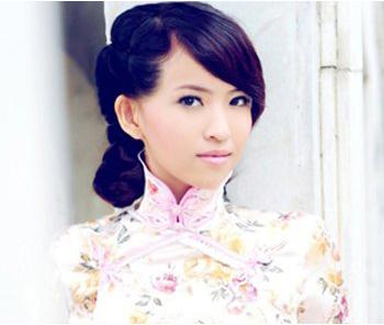 旗袍发型全面推荐_5款清秀典雅的魅力发型
