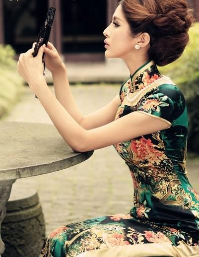 旗袍的独特魅力-漂亮的旗袍图片搜罗