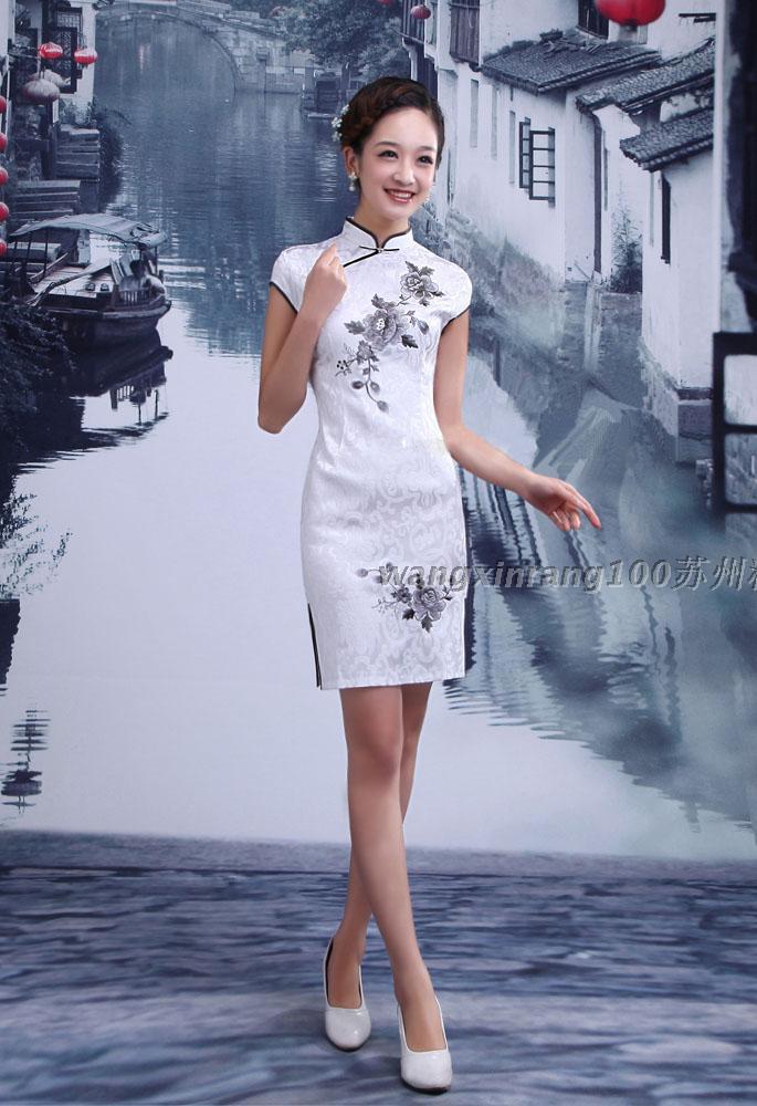 旗袍女神_古典清新嫩模美女3