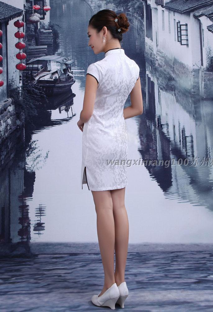 旗袍女神_古典清新嫩模美女1