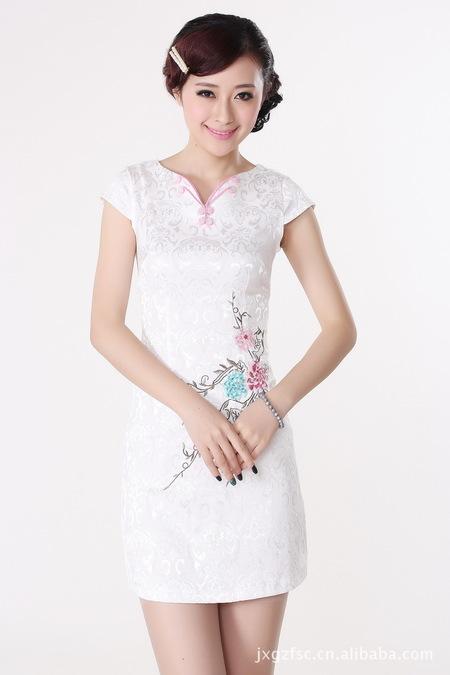 漂亮的旗袍裙