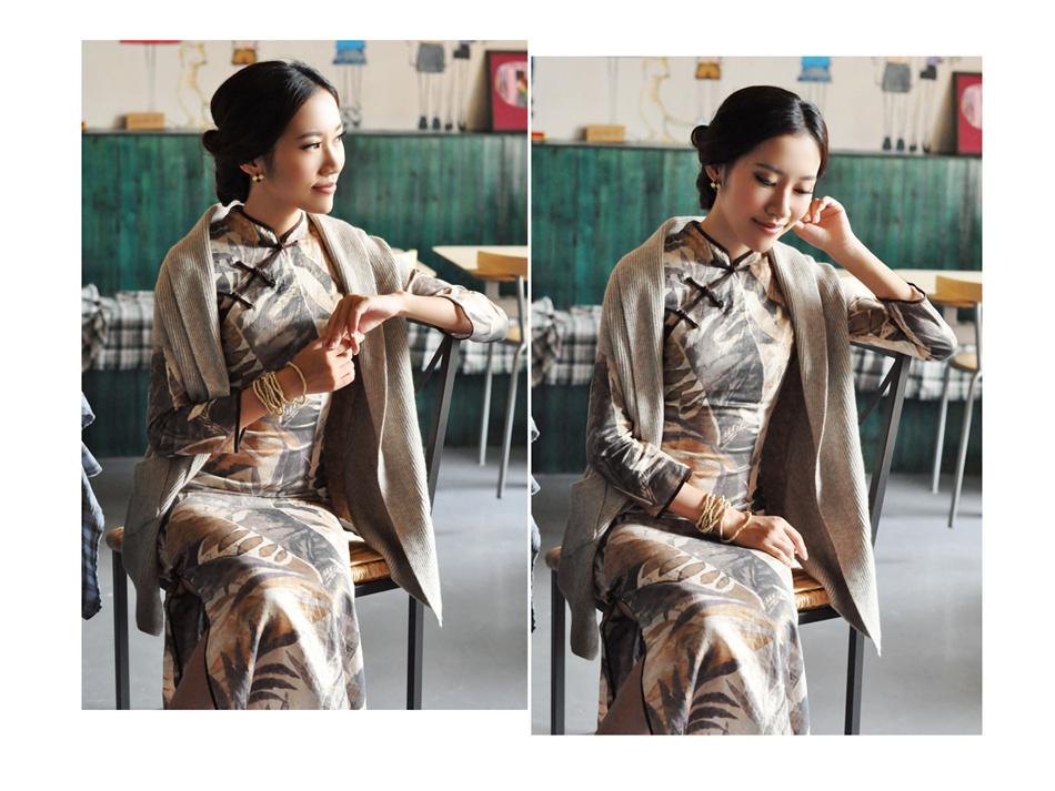 亚麻旗袍13