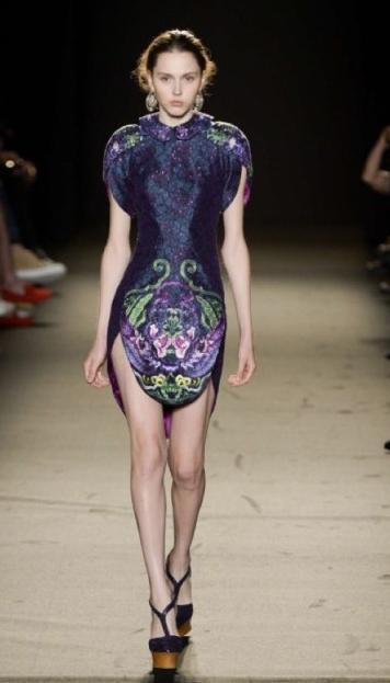 成衣、礼服、旗袍合而为一的精彩设计