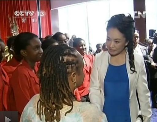 彭丽媛简历_访问多巴哥 掀起第一夫人风潮
