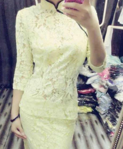 难道我是旗袍裙的活广告吗