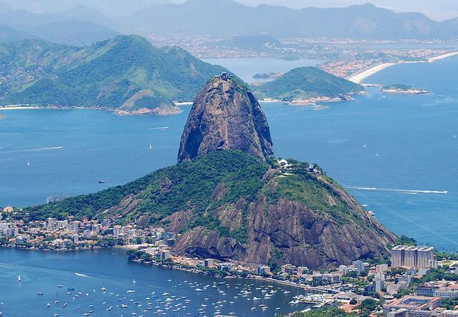 巴西的山和水