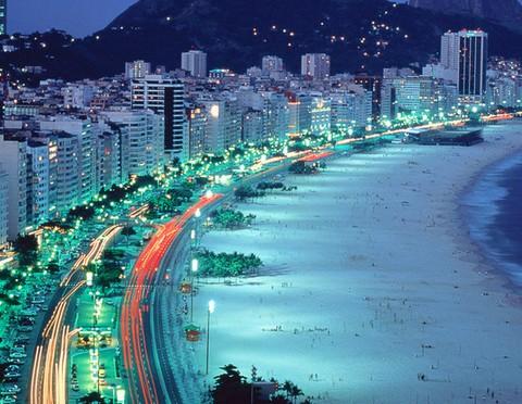 巴西的夜景