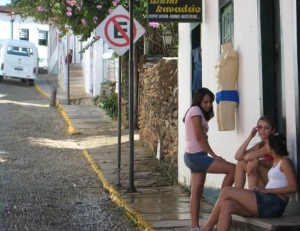 巴西风情小镇的美女