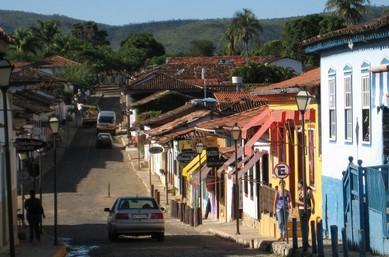 巴西风情小镇的汽车