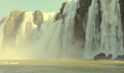 巴西瀑布风景