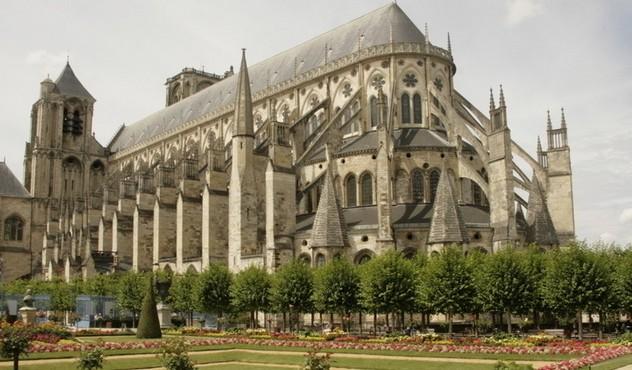 法国城堡摄影图__建筑景观