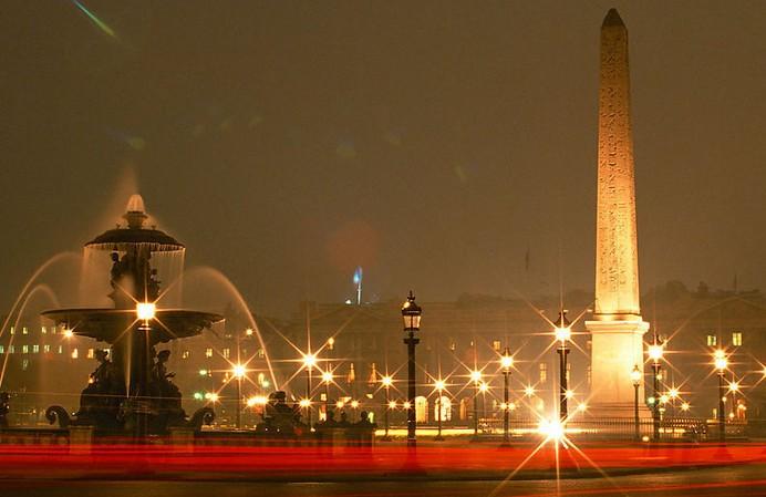 法国夜景摄影