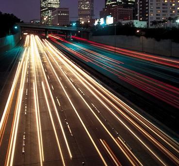 美国高速路上