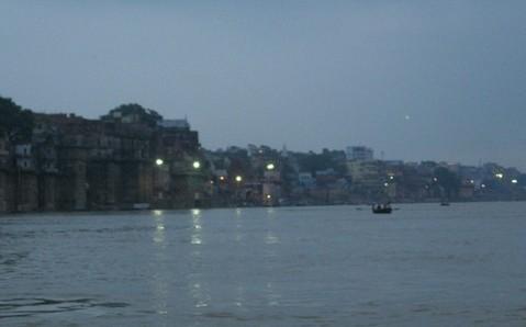 印度的傍晚风景