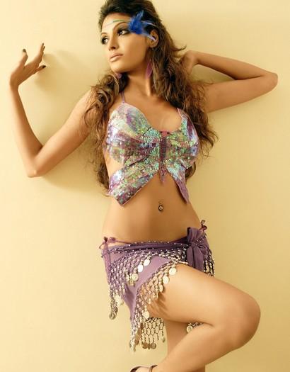 印度的风情美女