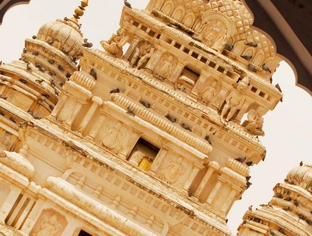 印度的古老建筑很是吸引人