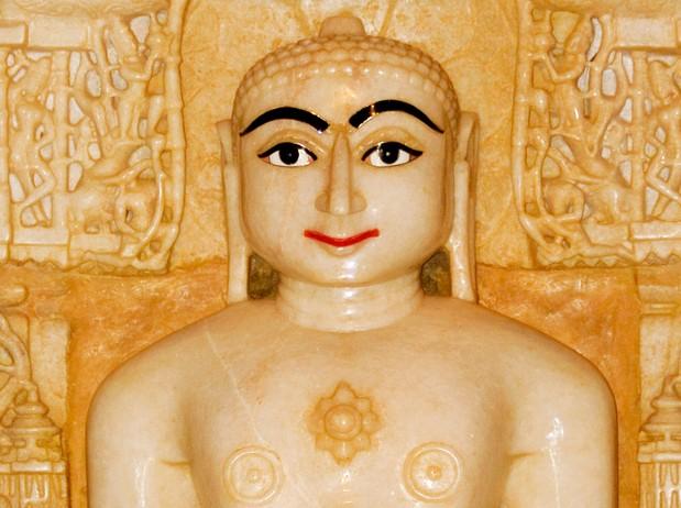 印度的神像近景